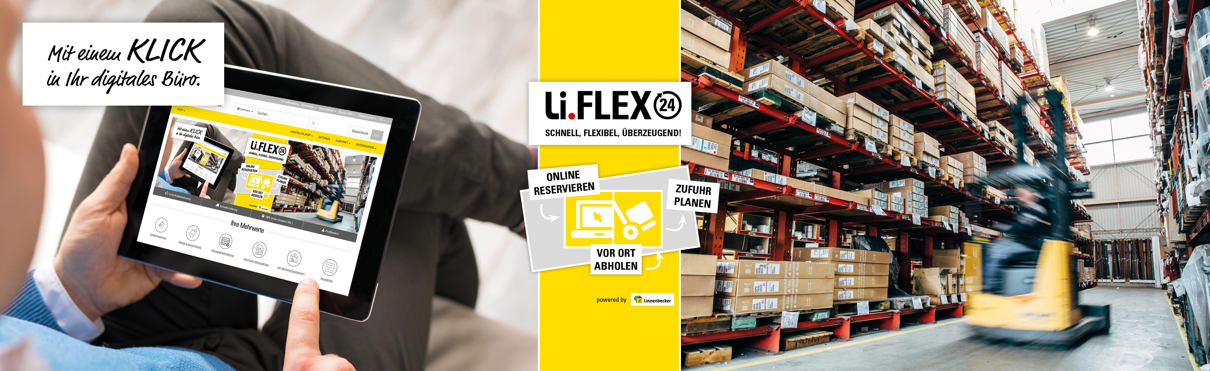 Li flex24 bestellplattform linnenbecker gmbh - Fliesenhandel berlin ...